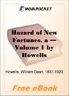 A Hazard of New Fortunes - Volume 1 for MobiPocket Reader