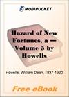 A Hazard of New Fortunes - Volume 5 for MobiPocket Reader