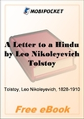 A Letter to a Hindu for MobiPocket Reader