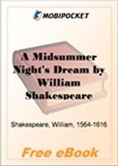 A Midsummer Night's Dream for MobiPocket Reader