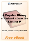 A Popular History of Ireland for MobiPocket Reader