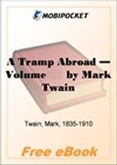 A Tramp Abroad for MobiPocket Reader