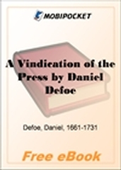 A Vindication of the Press for MobiPocket Reader