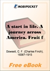 A start in life. A journey across America. Fruit farming in California for MobiPocket Reader