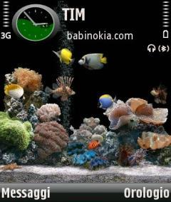Acquario Theme for Nokia N70/N90