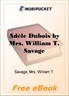 Adele Dubois for MobiPocket Reader