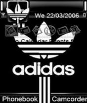 Adidas Stripes Theme