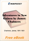 Adventures in New Guinea for MobiPocket Reader