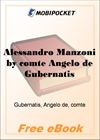 Alessandro Manzoni for MobiPocket Reader