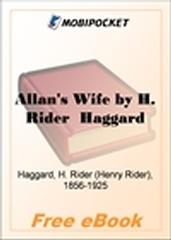 Allan's Wife for MobiPocket Reader