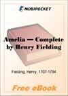 Amelia, Complete for MobiPocket Reader