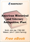 American Historical and Literary Antiquities, Part 04 for MobiPocket Reader