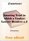 Amusing Trial in which a Yankee Lawyer Renders a Just Verdict for MobiPocket Reader