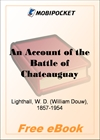 An Account of the Battle of Chateauguay for MobiPocket Reader