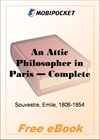 An Attic Philosopher in Paris for MobiPocket Reader