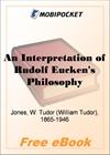 An Interpretation of Rudolf Eucken's Philosophy for MobiPocket Reader