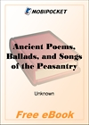 Ancient Poems, Ballads, and Songs of the Peasantry of England for MobiPocket Reader