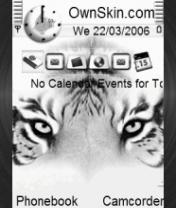 Animated Bengal Tiger 2 Theme