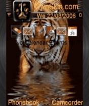 Animated Bengal Tiger Theme