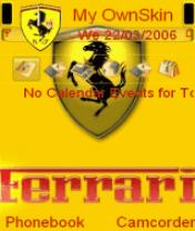 Animated Ferrari 1 Theme