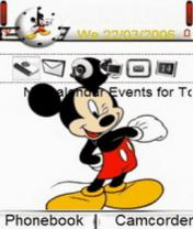 Animated Mickey Mouse 2 Theme