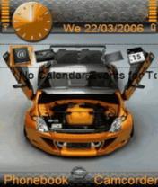 Animated Nissan Sports Theme