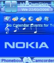 Animated Nokia 1 Theme