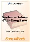 Arachne - Volume 07 for MobiPocket Reader