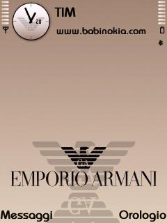 Armani Theme for Nokia N70/N90