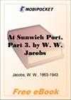 At Sunwich Port, Part 3 for MobiPocket Reader