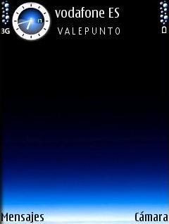 Aurora Azul SVG Theme