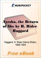 Ayesha, the Return of She for MobiPocket Reader