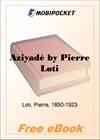 Aziyade for MobiPocket Reader