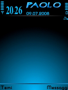 Black&Blue Theme