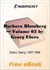 Barbara Blomberg - Volume 03 for MobiPocket Reader