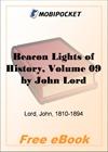 Beacon Lights of History, Volume 09 European Statesmen for MobiPocket Reader