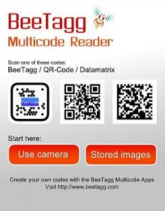BeeTagg Reader (S60 3rd Edition)