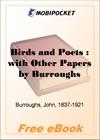 Birds and Poets for MobiPocket Reader