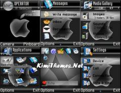 Black Apple 2 Theme