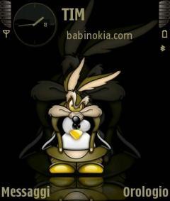 Black Babinokia Theme for Nokia N70/N90