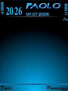 Black&Blue Theme