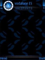 Black & Blue V2 SVG Theme