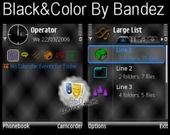 Black&Color Theme
