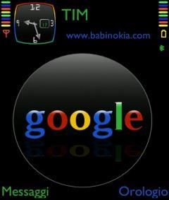 Black Google Theme