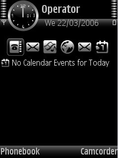 Black Theme for Nokia N70/N90