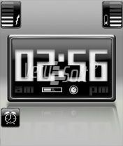 Blacky Style Digital for NiceClock2