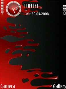 Bloody SVG Theme