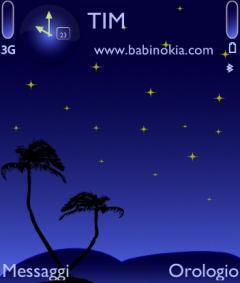 Blu Night Theme