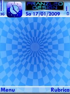 Blue Geometry Theme