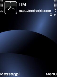 Blue Inspired Theme for Nokia N70/N90